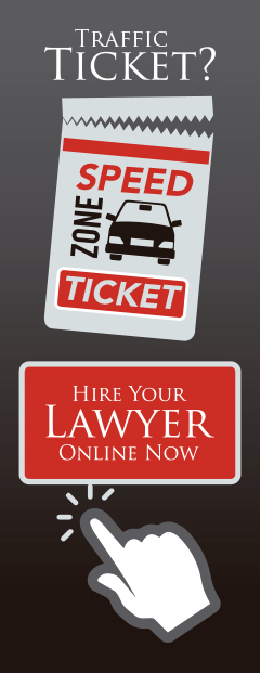 Hire your traffic lawyer online now.